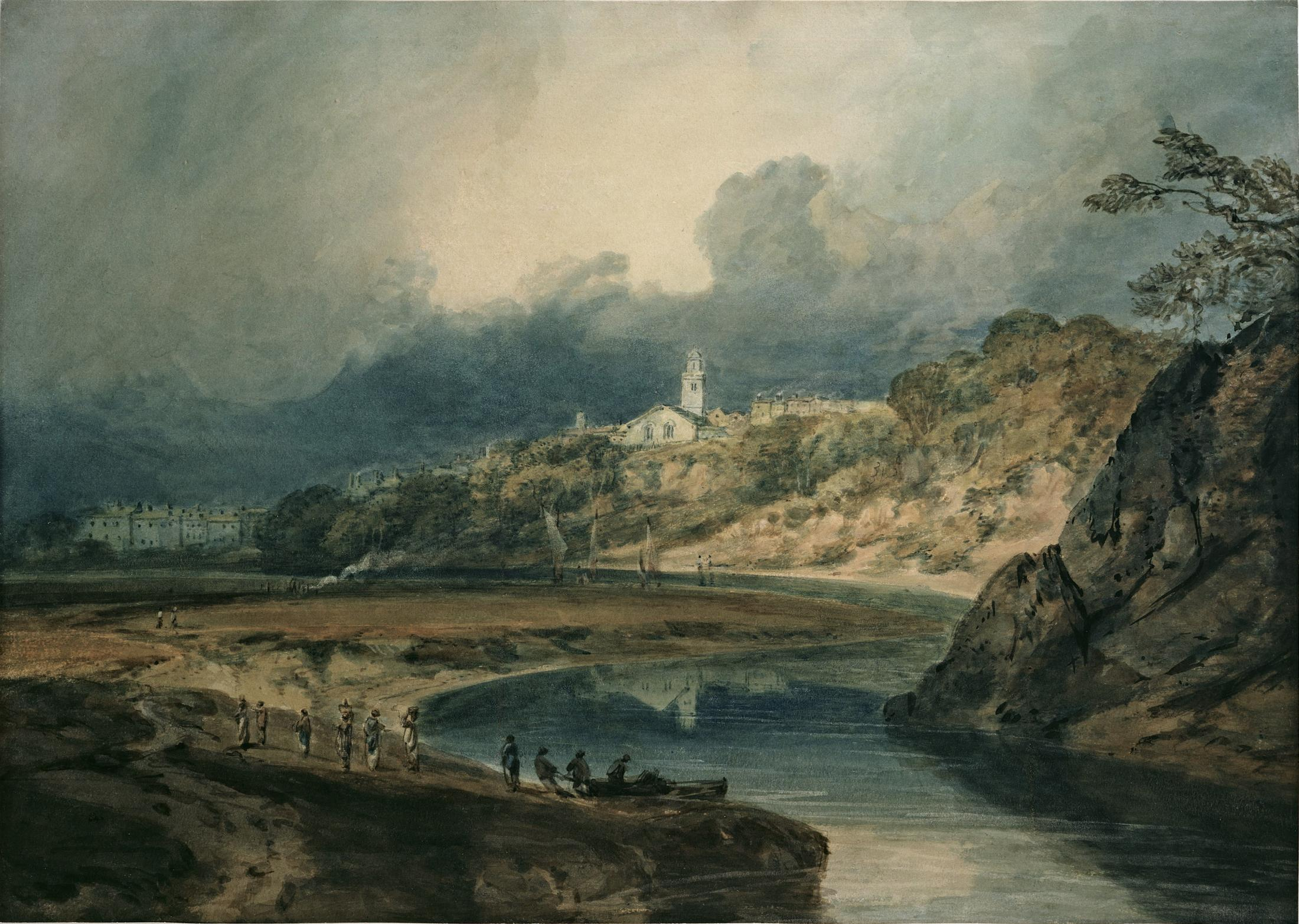 BRIDGNORTH ON THE RIVER SEVERN