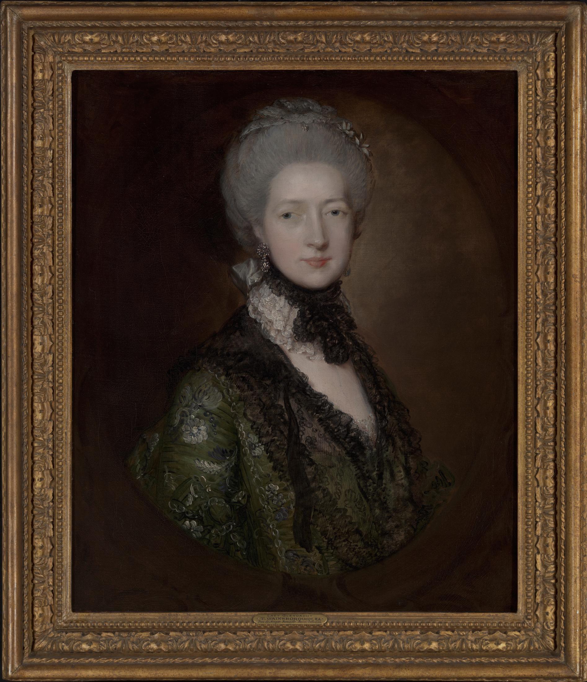 Portrait of Lady Willielma Glenorchy