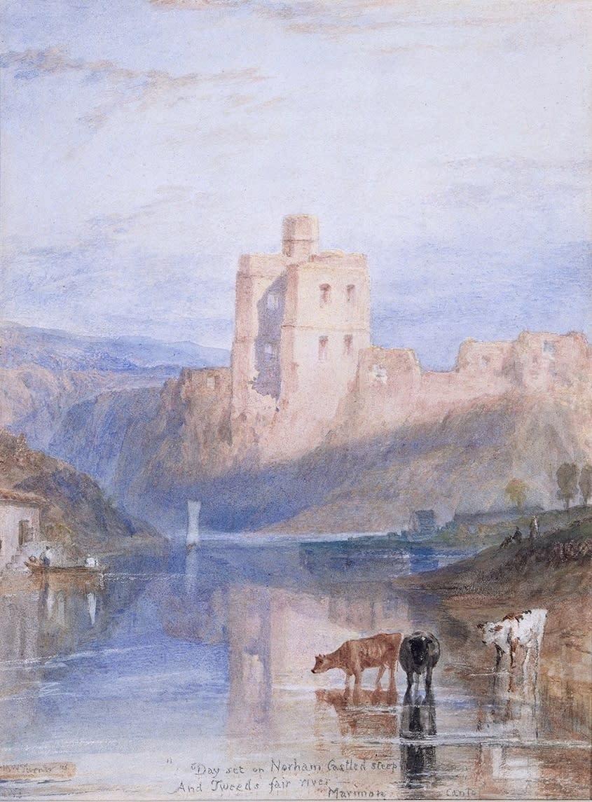 Norham Castle on the Tweed