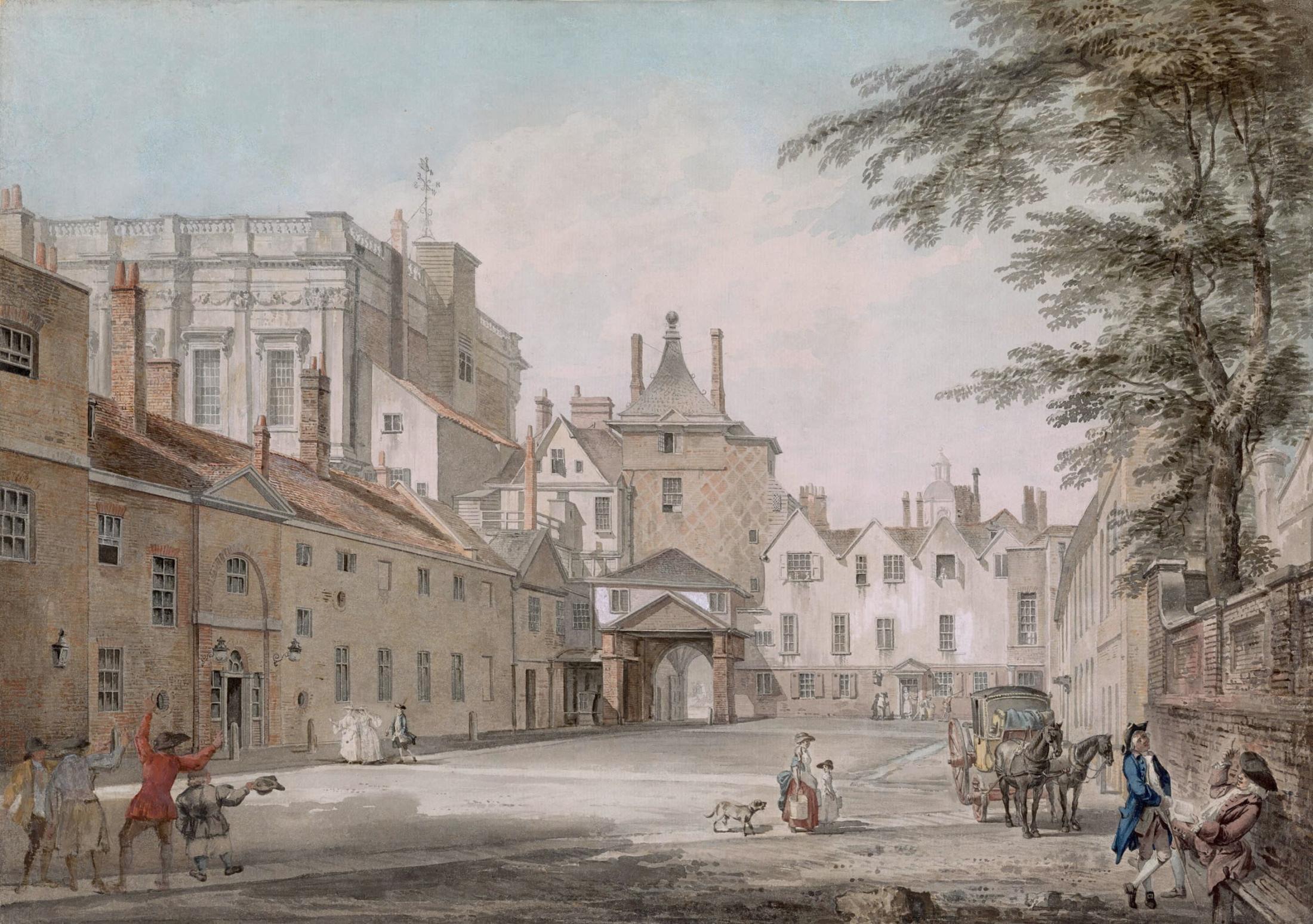 Banqueting Hall, Whitehall and Scotland Yard