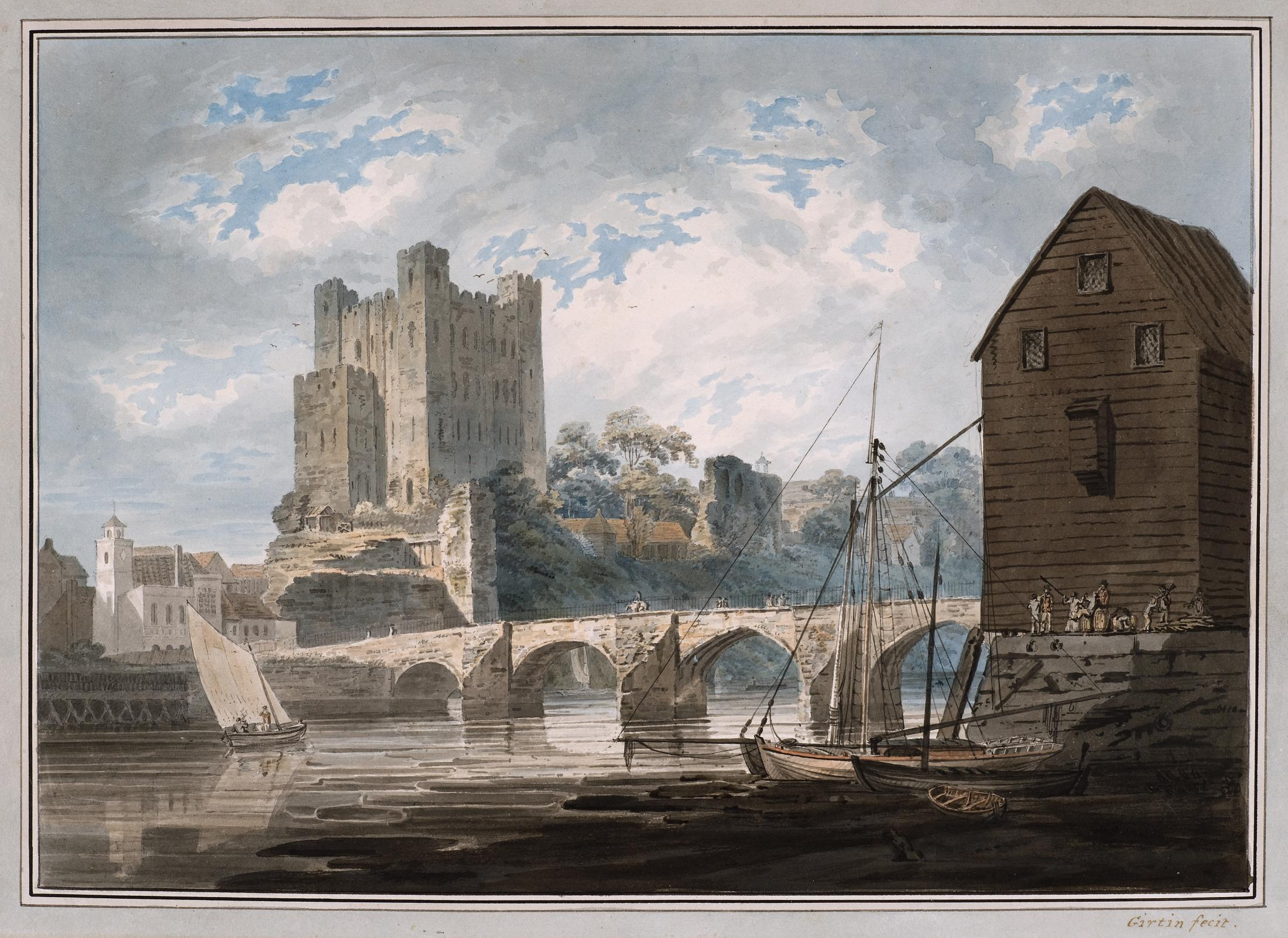 Rochester Castle from the River