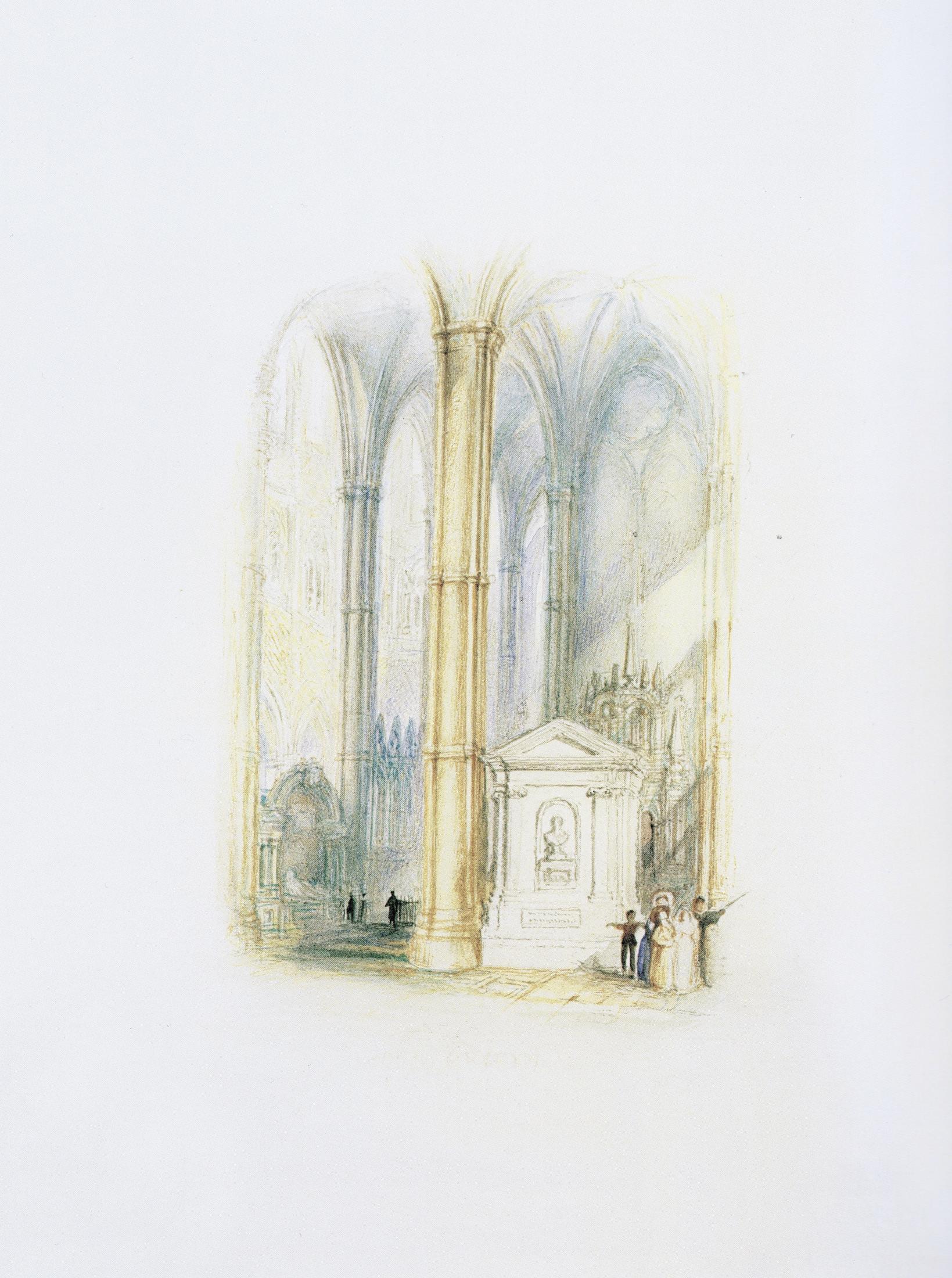 John Dryden's Monument, Westminster Abbey