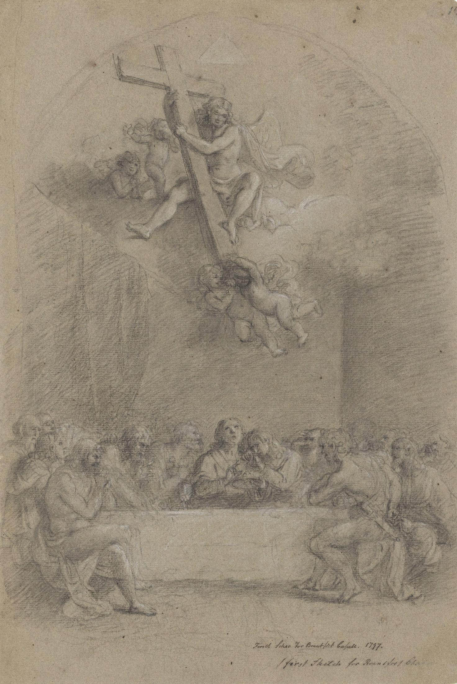 Study for the Altarpiece at Brentford Chapel