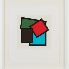 Mary Webb, Brown, red, green & blue, 1996