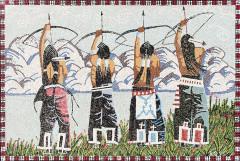 Thom Ross, Crazy Arrow Mosaic