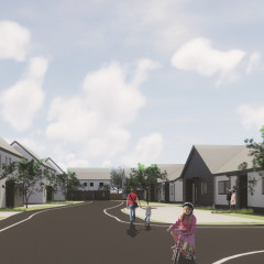 Funding from Land Release enables new development