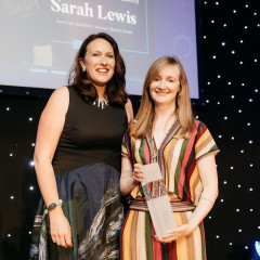 Sarah named best in Europe at Women in Construction and Engineering Awards