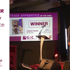 Barnsley Electrician wins Trade Apprentice of the Year award