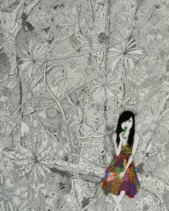 Patterned Dress - Jungle