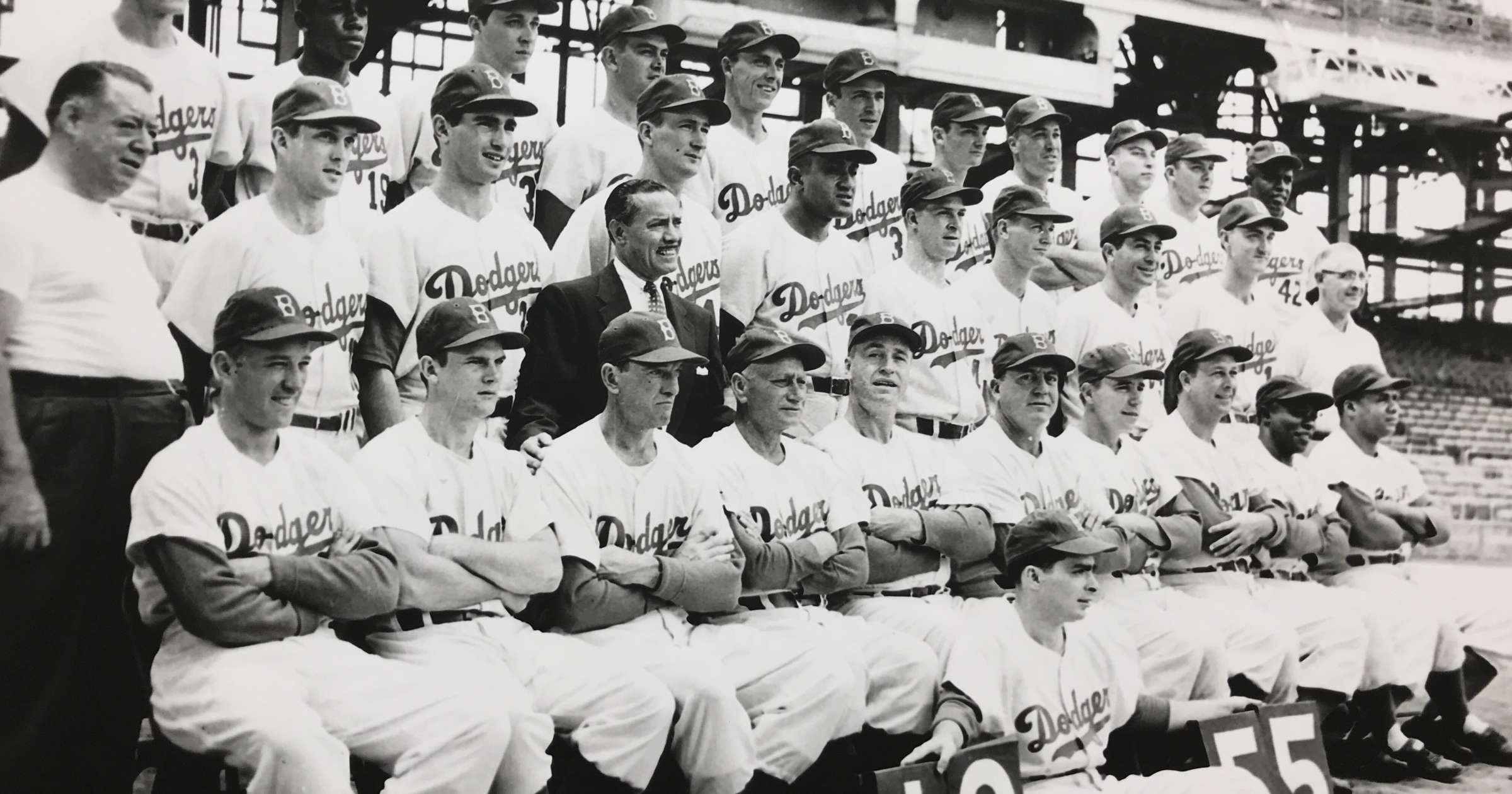 Nat Fein, Champs, Brooklyn Dodgers, The Dodgers bring the first World Title  to Brooklyn, 1955 - Artwork 15818 | Jackson Fine Art