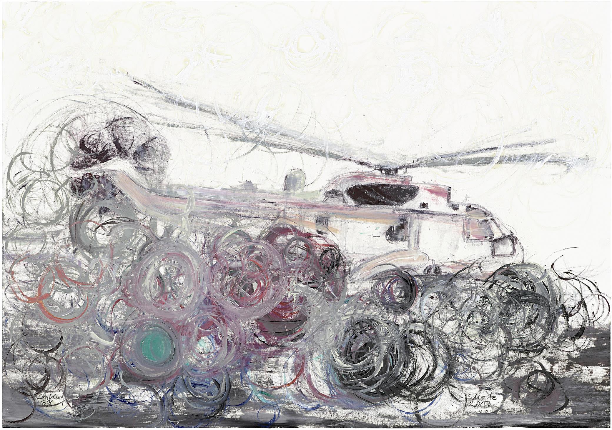 Sabine Moritz, Sea King 68, 2017