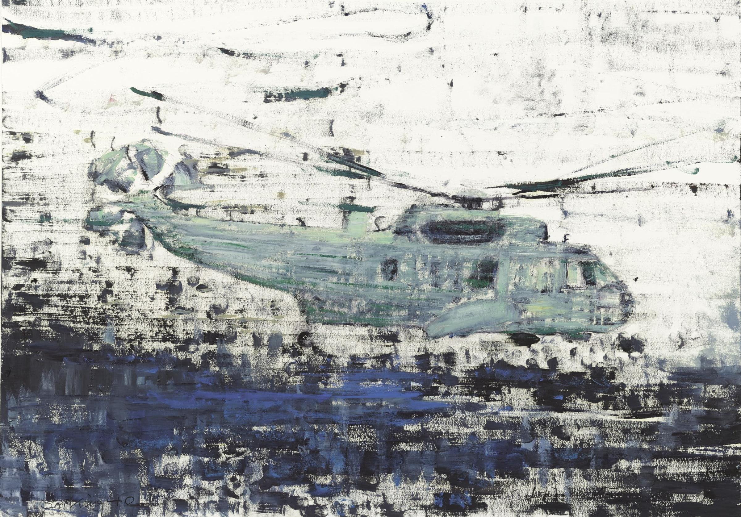Sabine Moritz, Sea King 40, 2015
