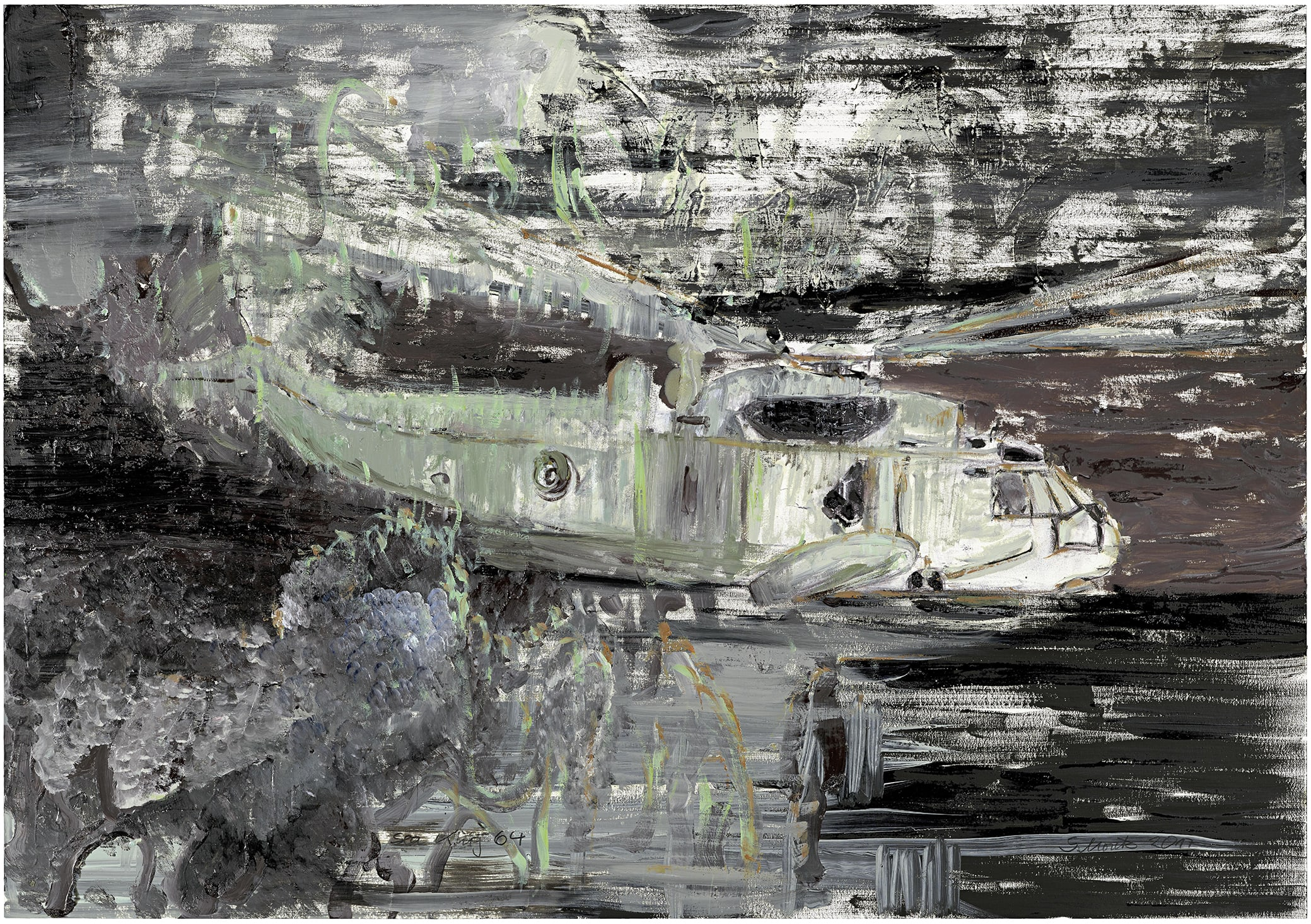 Sabine Moritz, Sea King 64, 2017