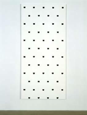 Niele Toroni, Black Painting, 1997