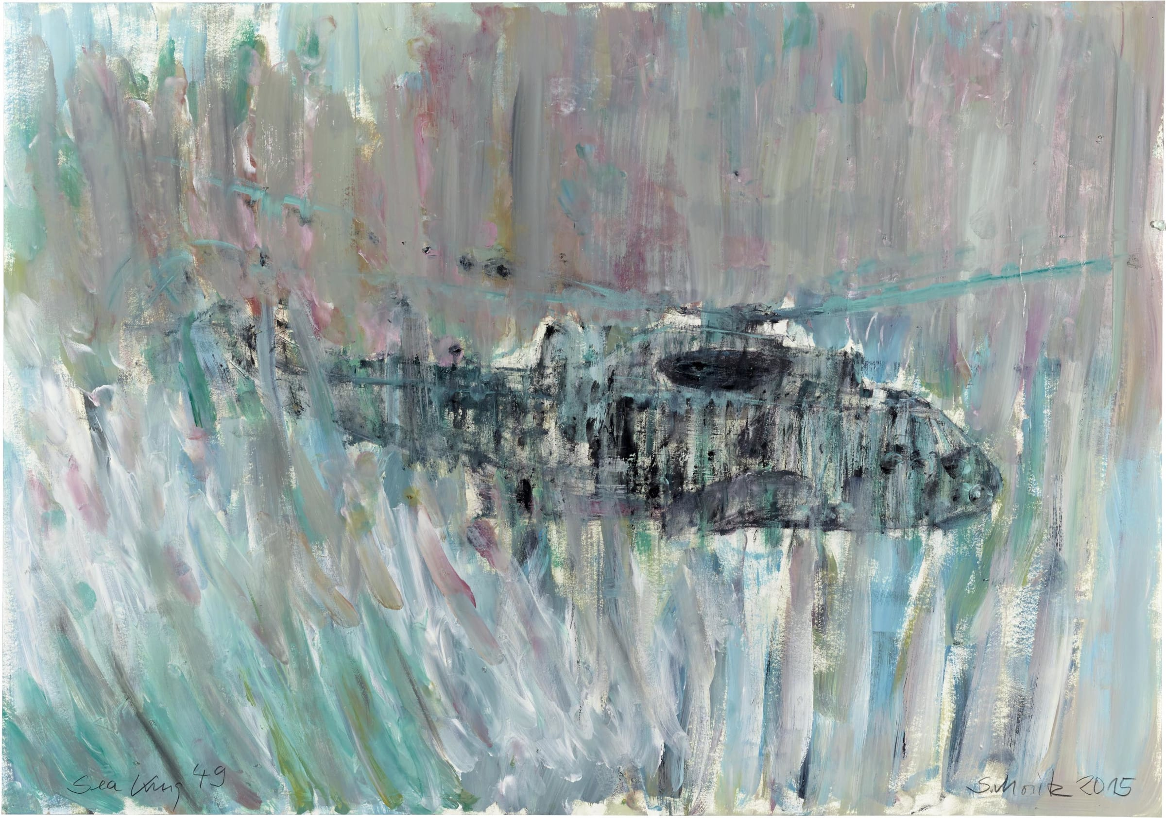 Sabine Moritz, Sea King 49, 2015
