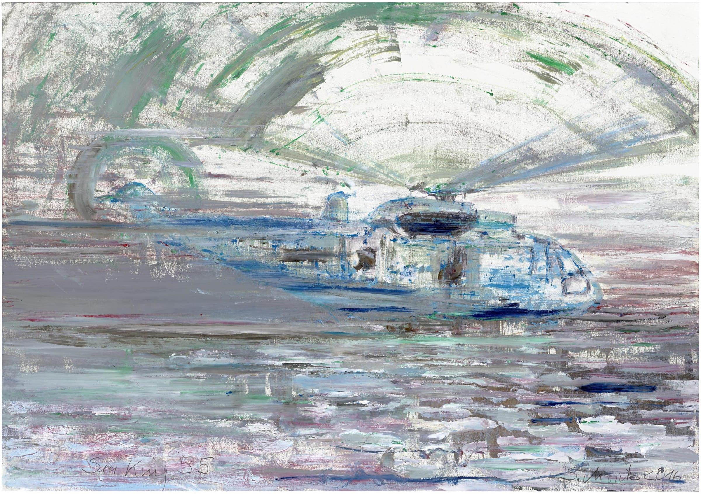 Sabine Moritz, Sea King 55, 2016