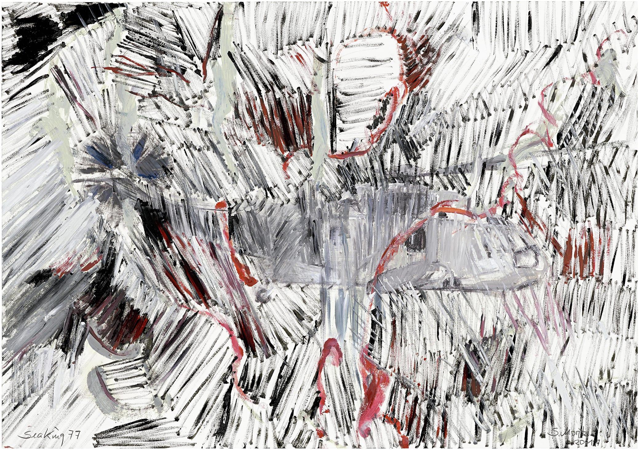 Sabine Moritz, Sea King 77, 2017