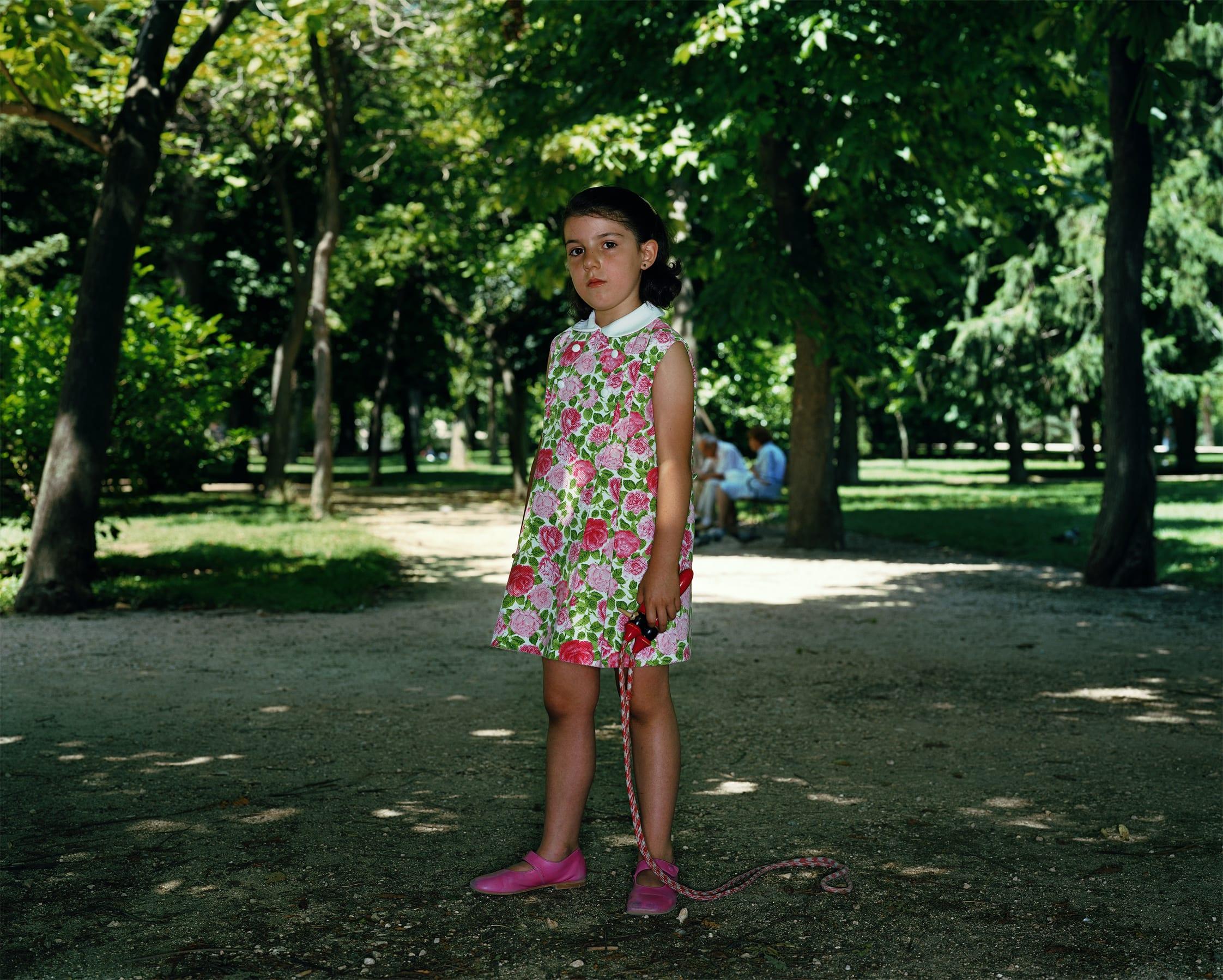 Rineke Dijkstra, El Parque del Retiro, Madrid, July 2, 2006, 2006
