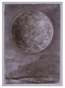William Kentridge, Moon, 2004