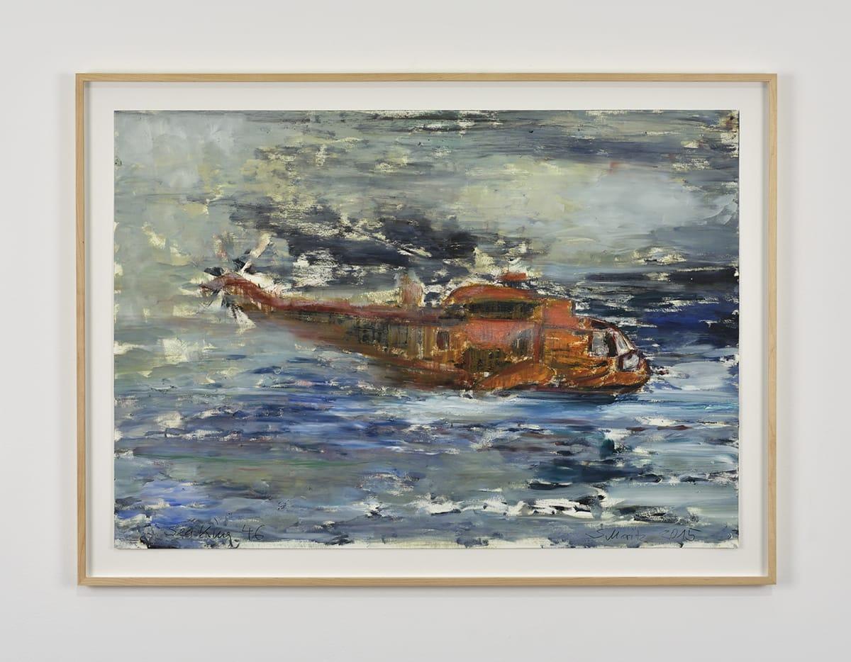 Sabine Moritz, Sea King 46, 2015
