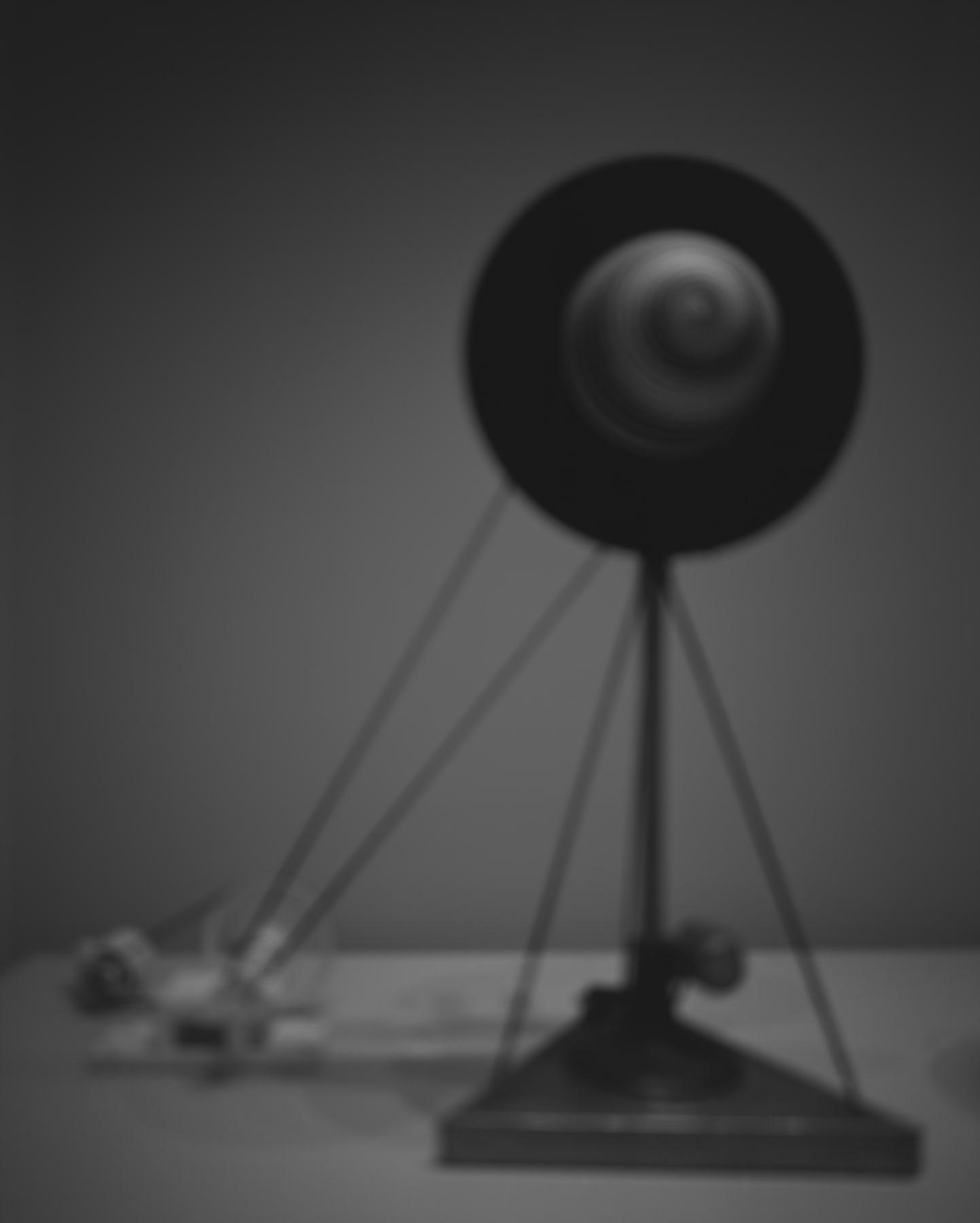 Hiroshi Sugimoto, Past Presence 023, Rotary Demisphere, Marcel Duchamp, 2013