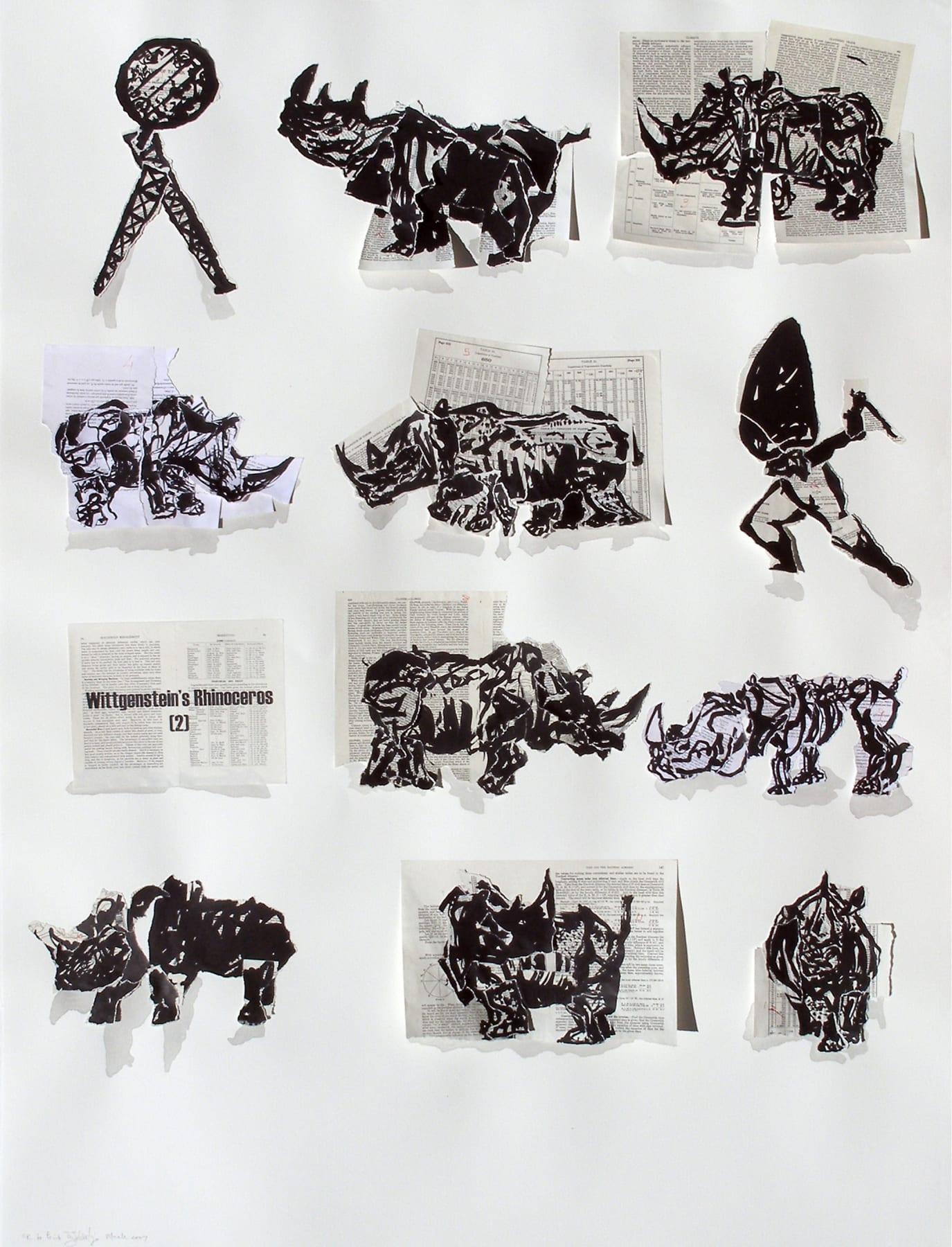 William Kentridge, Wittgenstein's Rhinoceros, 2007