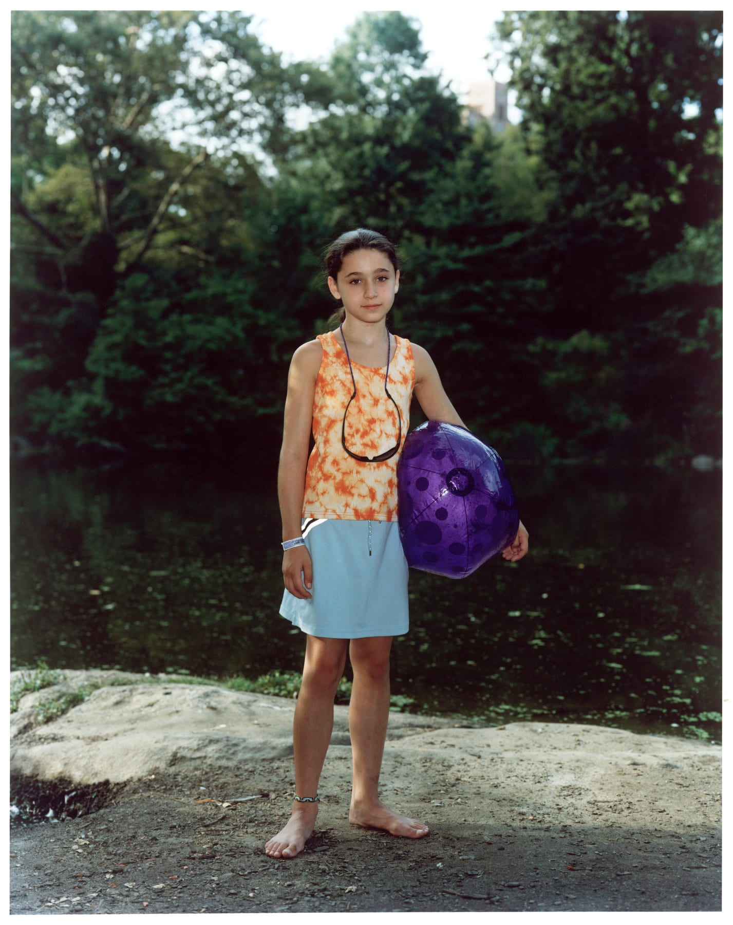 Rineke Dijkstra, Central Park, New York, August 18, 2005, 2005