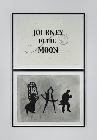 William Kentridge, Journey to the Moon, 2003