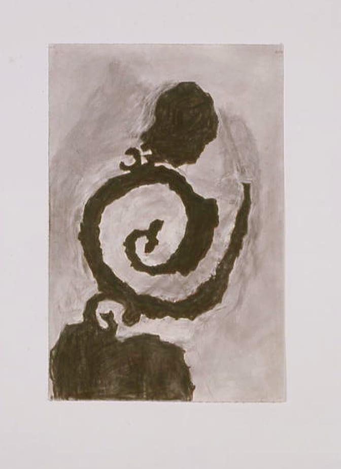 William Kentridge, Spiral Belly 2, 2003