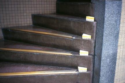 Gabriel Orozco, Sandwich Steps, 2000