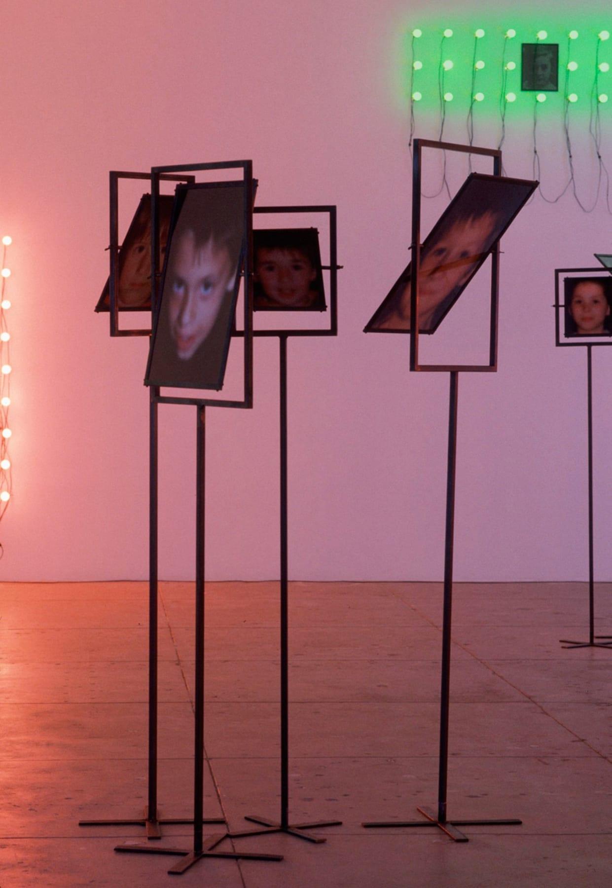 Christian Boltanski, Les Miroirs (4 photographs), 2000