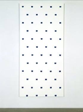 Niele Toroni, Blue Painting, 1997