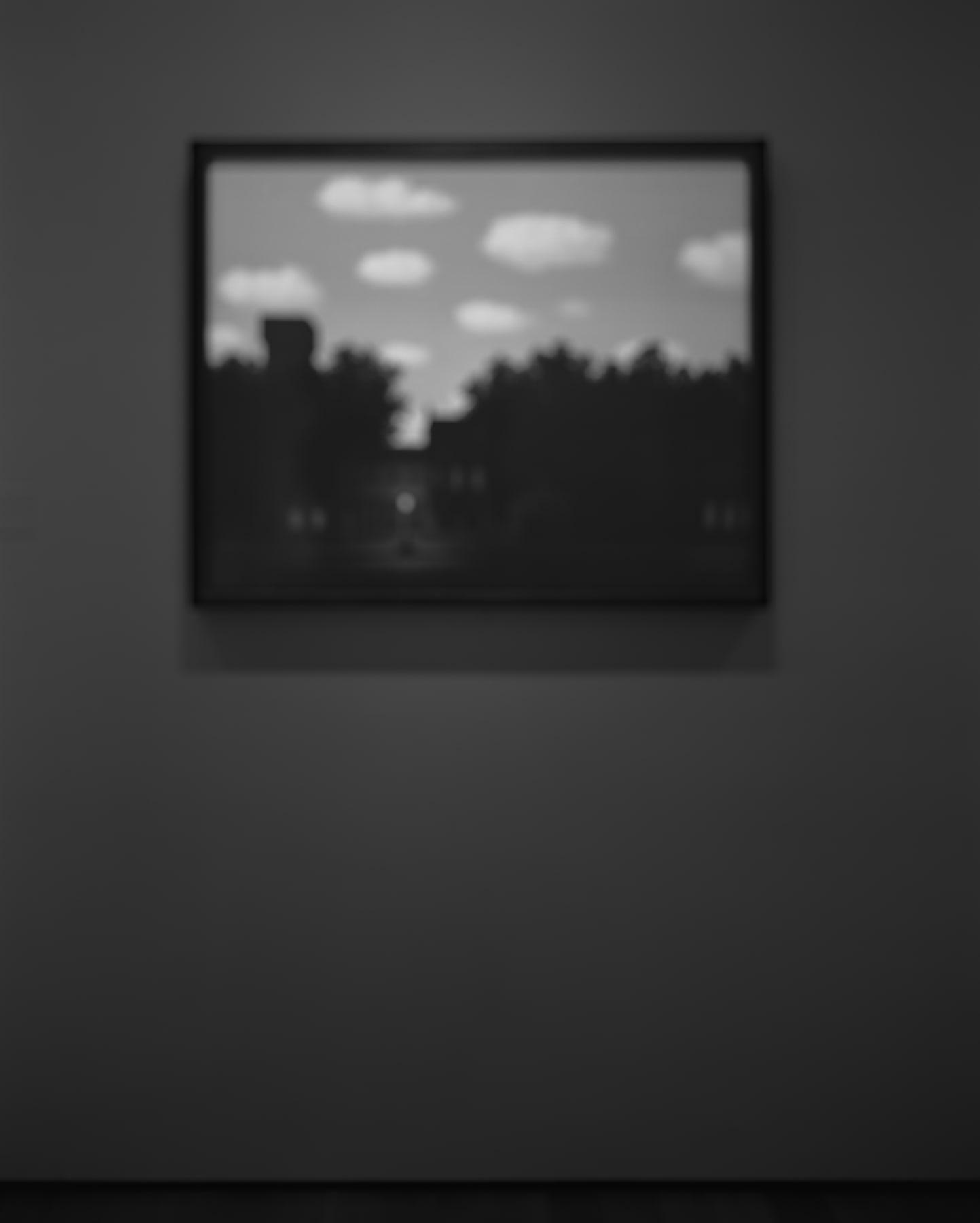 Hiroshi Sugimoto, Past Presence 057, The Empire of Light II, René Magritte, 2014