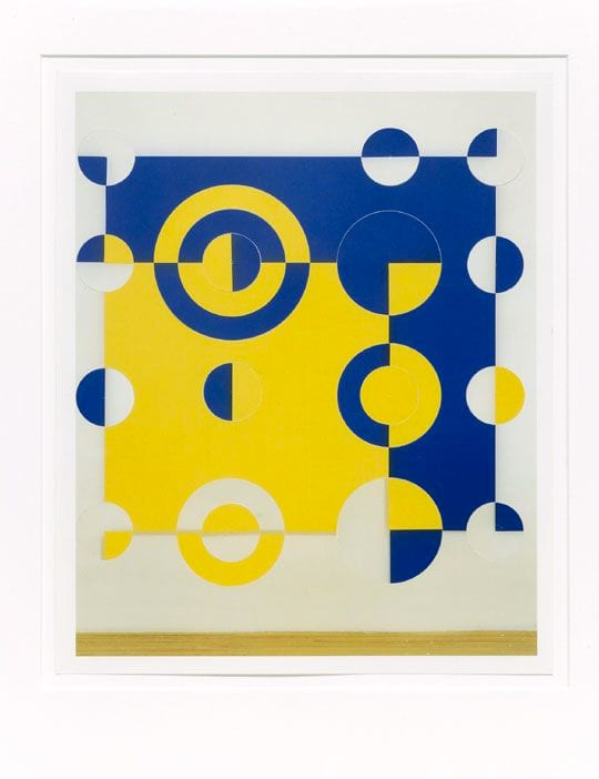 Gabriel Orozco, Kelly's Kites 9, 2001