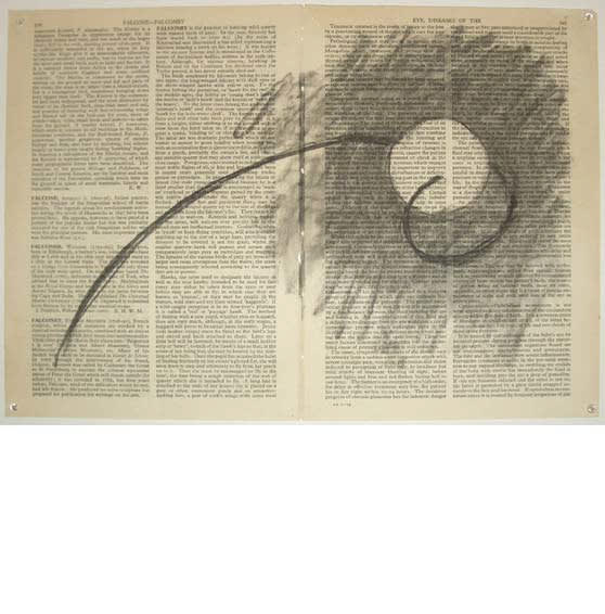 William Kentridge, Fragments for Georges Melies , (Page 484 Europe Overseas/ Page 509 Exchange Control), 2003