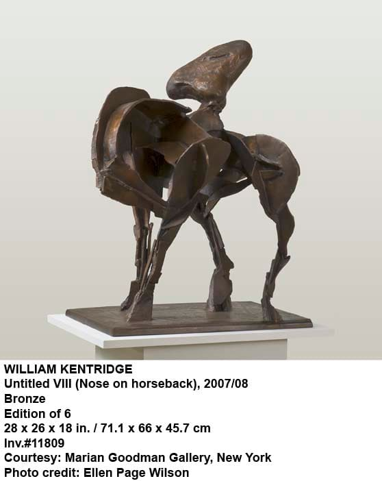 William Kentridge, Untitled VIII (Nose on Horseback), 2007
