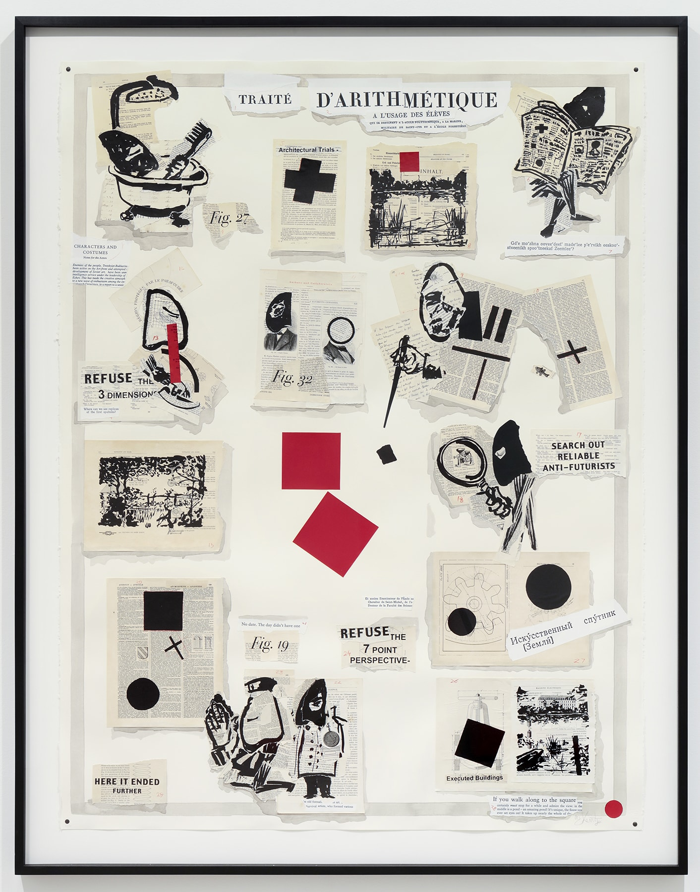 William Kentridge, Traité D'Arithmétique, 2007