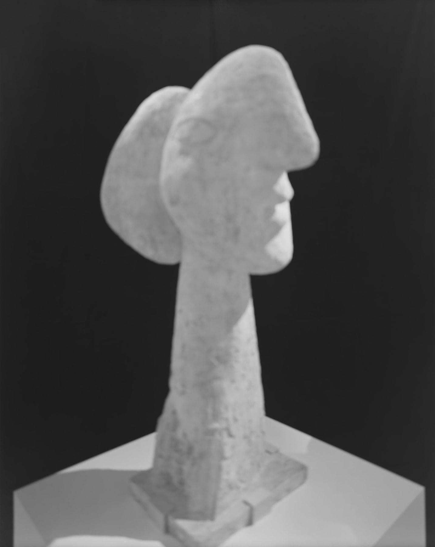 Hiroshi Sugimoto, Past Presence 026, Head of a Woman, Pablo Picasso, 2014