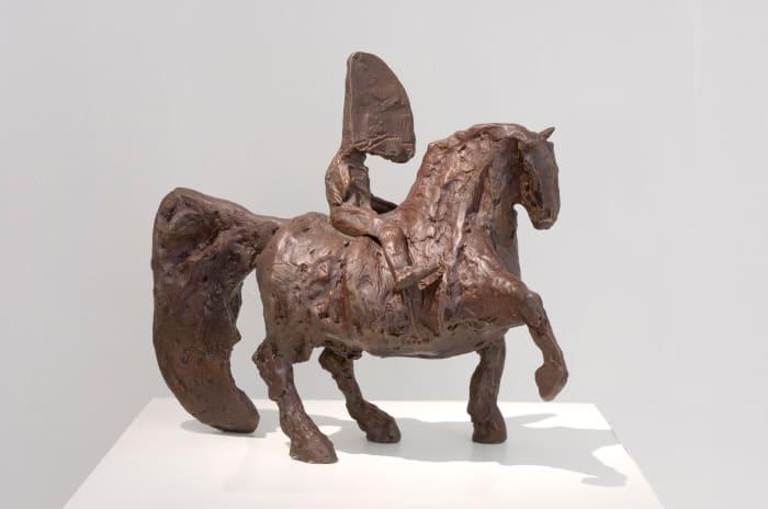 William Kentridge, Untitled II (Nose on fat horse), 2007