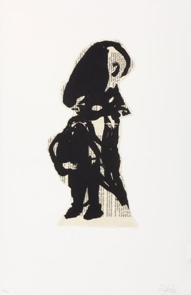 William Kentridge, Nose Alone, 2007