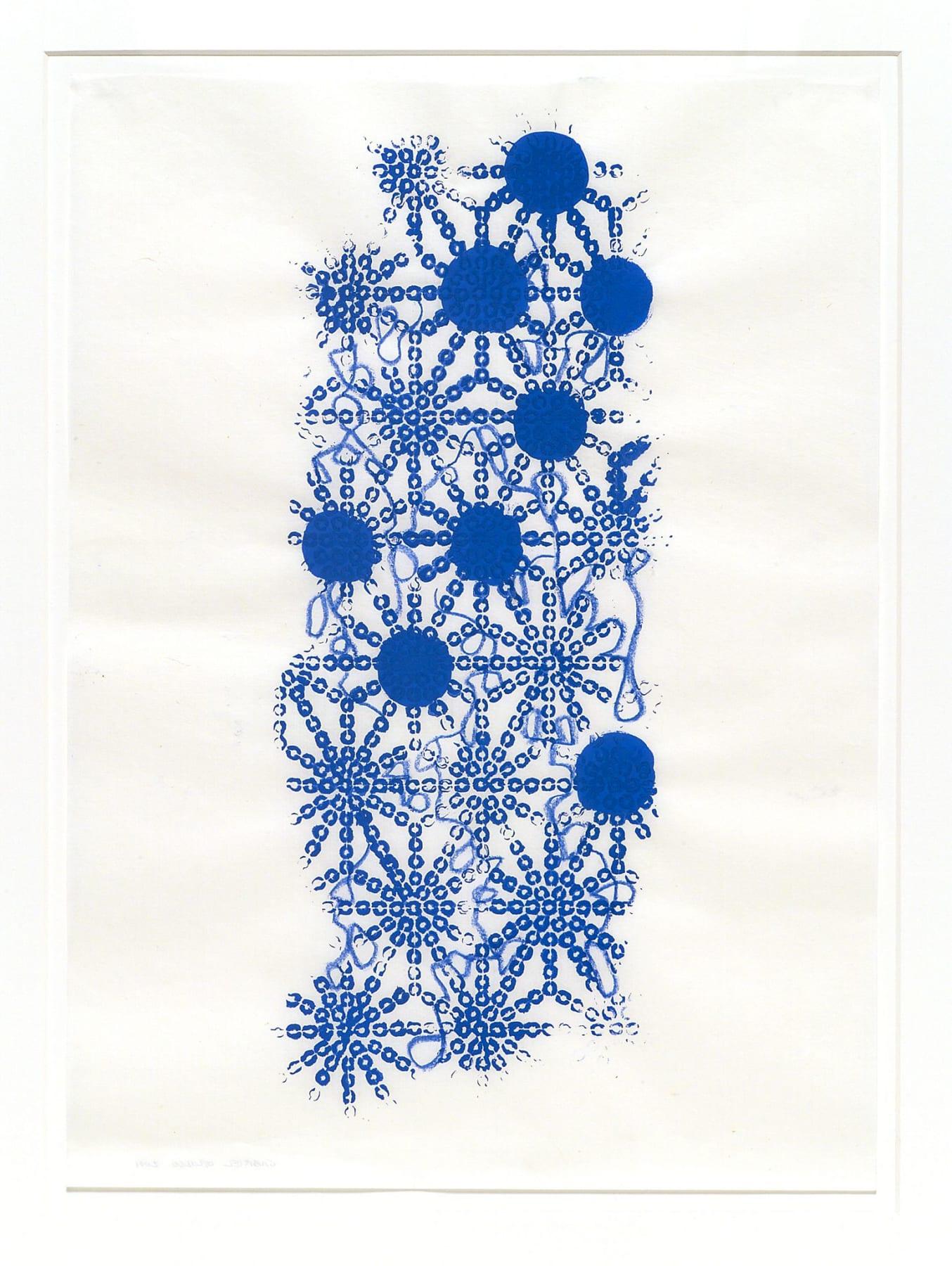 Gabriel Orozco, Katagami Prints 3, 2001