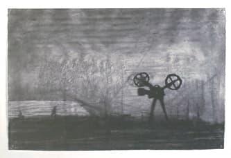 William Kentridge, Camera in landscape, 2003