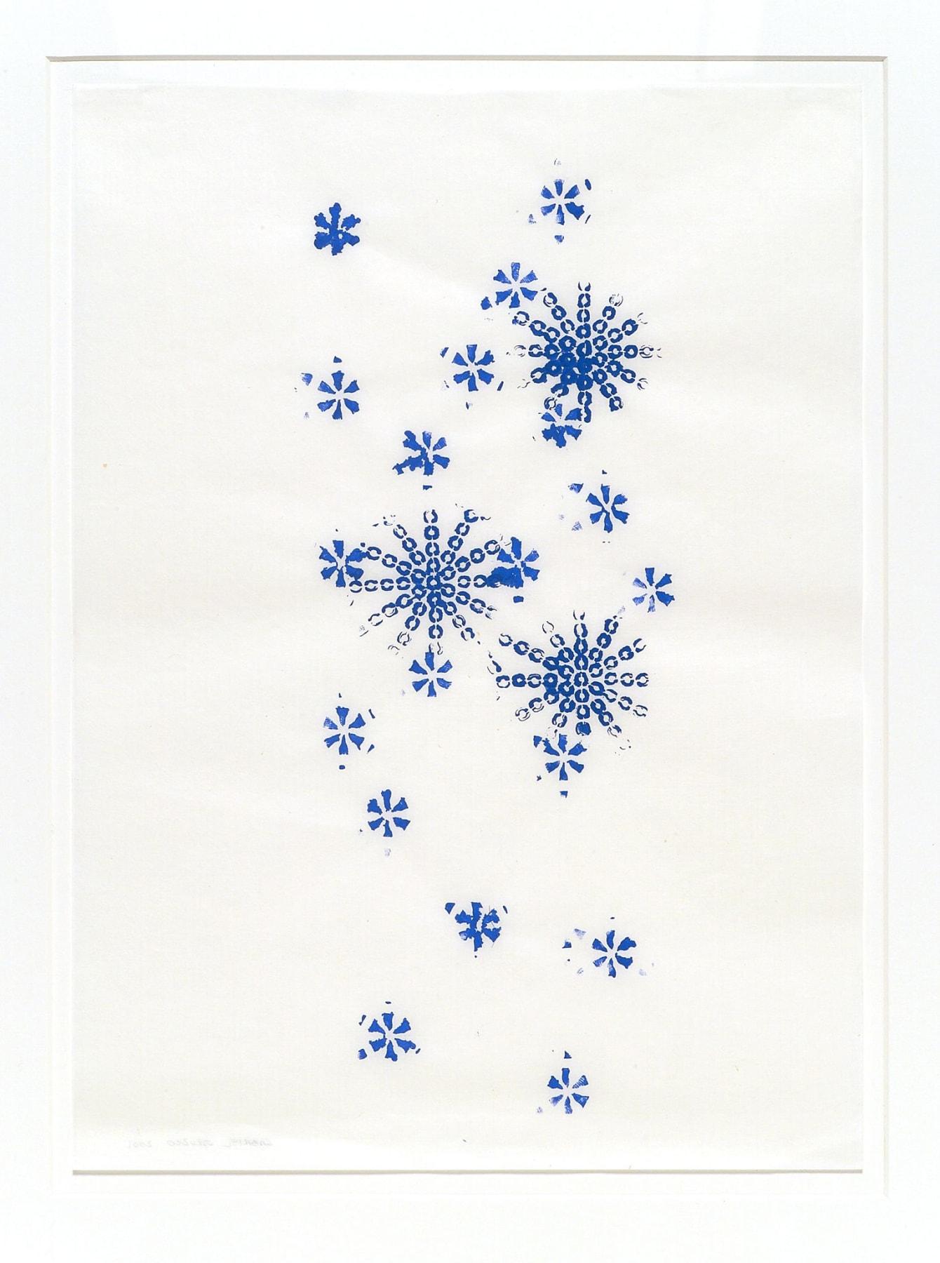 Gabriel Orozco, Katagami Prints 7, 2001