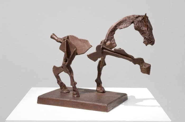 William Kentridge, Untitled III (Two part horse), 2007