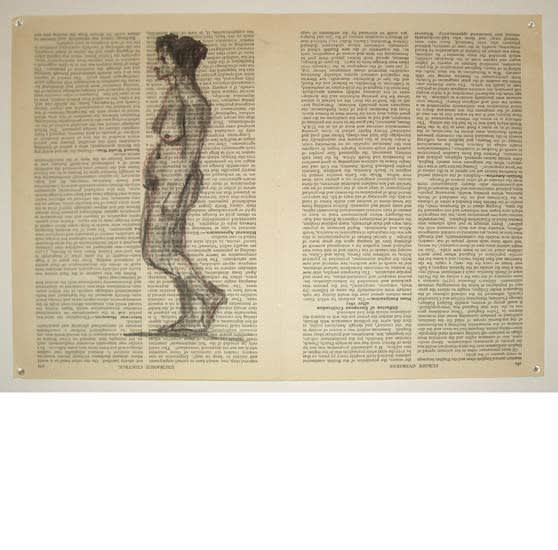 William Kentridge, Fragments for Georges Melies , (Page 492 Evidence, Law of/ Page 501 Evolution-Ewald, 2003