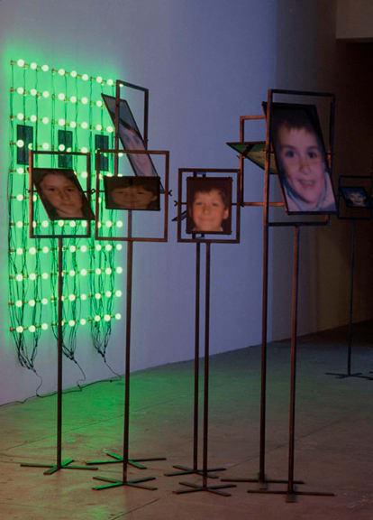 Christian Boltanski, Les Miroirs (7 photographs), 2000