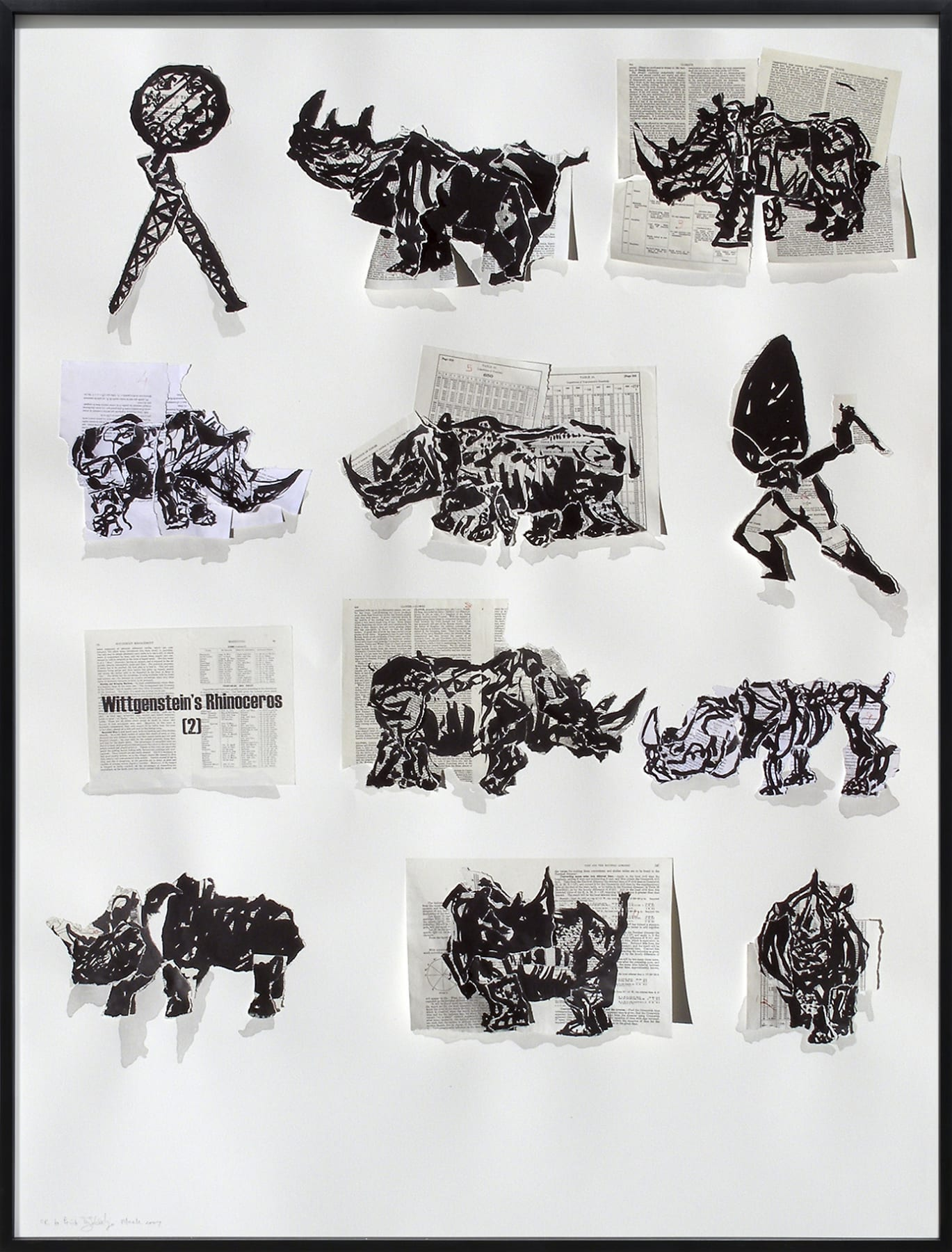 William Kentridge, Wittgenstein's Rhinoceros, 2007