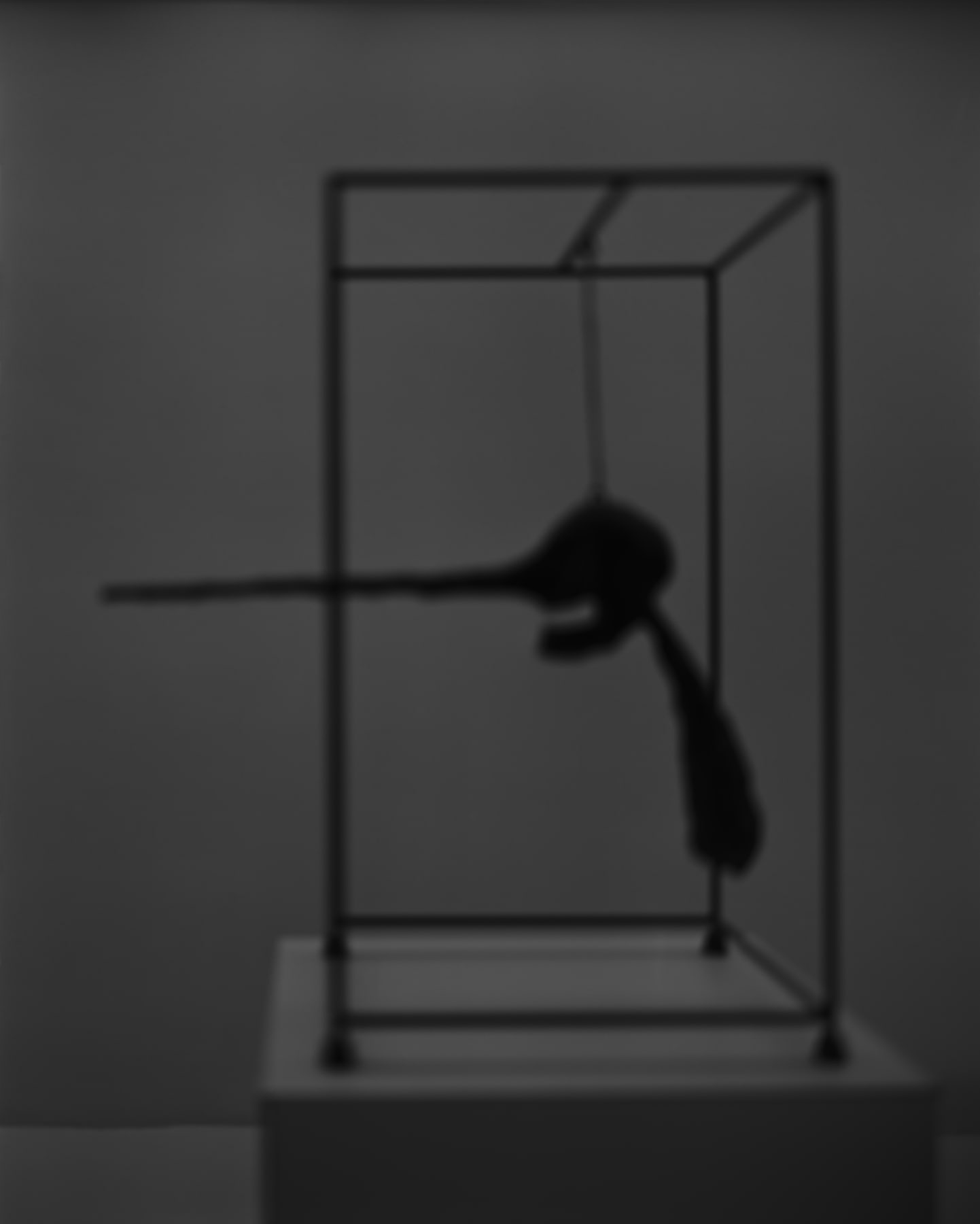Hiroshi Sugimoto, Past Presence 090, The Nose, Alberto Giacometti, 2018
