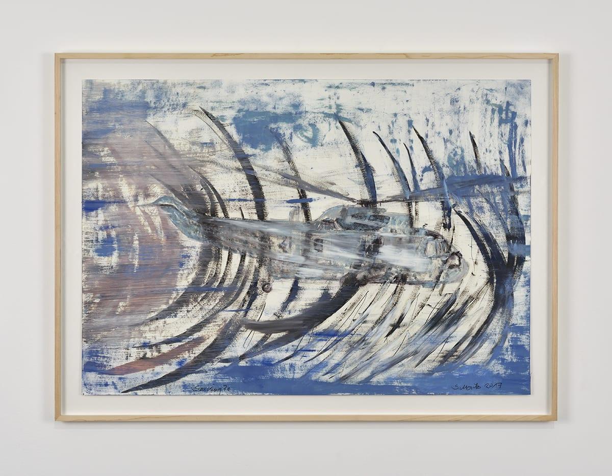 Sabine Moritz, Sea King 71, 2017