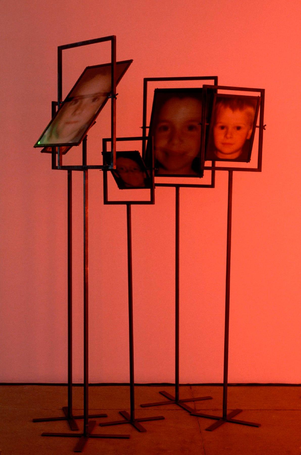 Christian Boltanski, Les Miroirs (5 photographs), 2000